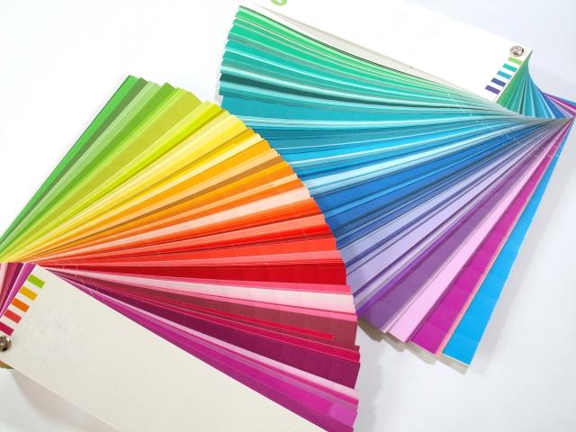 カーテンの色決め
