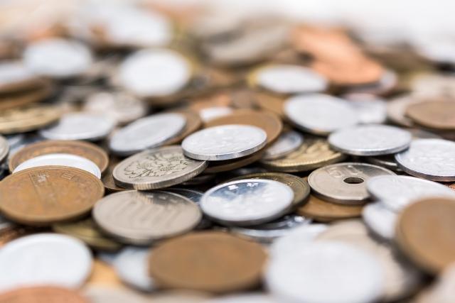 お賽銭の小銭