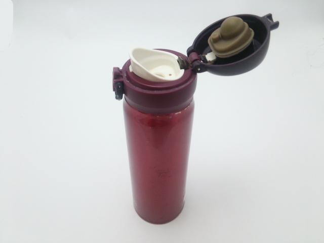 水筒の蓋とパッキン